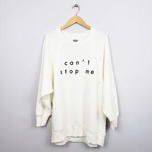 🆕️ Aerie Oversized Graphic Crewneck Sweatshirt